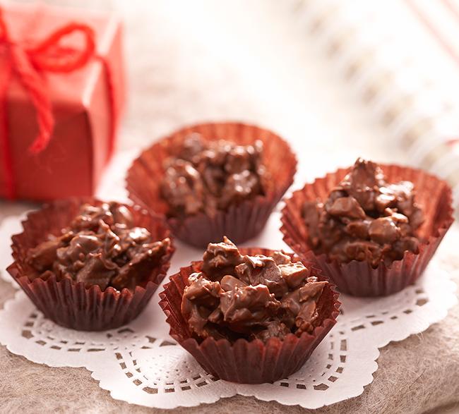 シリアルチョコのつくり方|手づくりスイーツレシピ|ガーナ|お