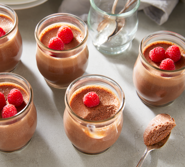 ムース 作り方 チョコレート 【材料2つ】レンジで簡単!雪のような口どけ『チョコレートムース』の作り方