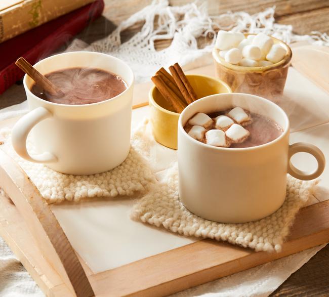 ホット ミルク チョコレート